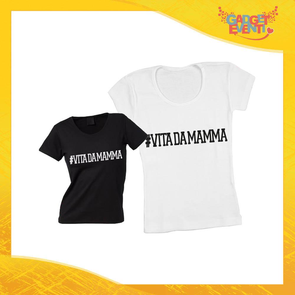 """Maglietta, t-shirt idea regalo festa della mamma """"Vita da Madre"""" - Gadget Eventi"""