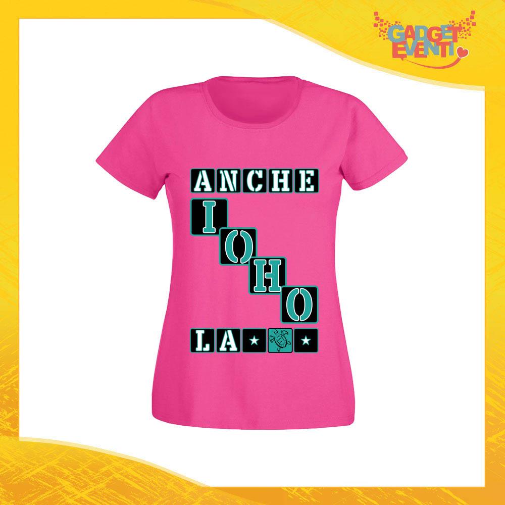 Maglietta Io La Tartaruga Ho Personalizzata Anche Donna Gadget EDH29I
