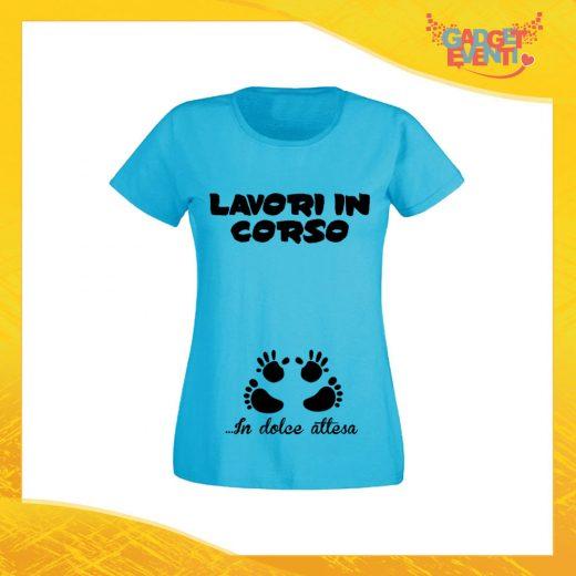 42c0b0fd239a ... T-Shirt Donna Azzurra