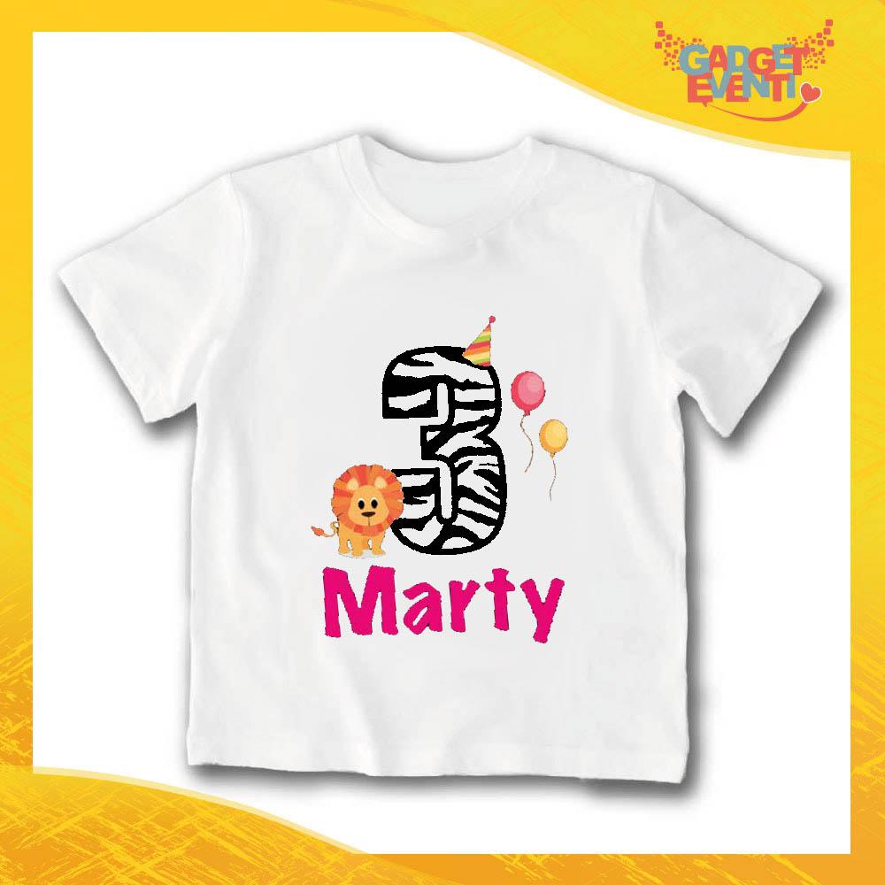 Sunshine con gelato-Bambini//Bambini T-shirt DTG-personalizzato con nome