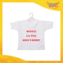 Scegli la Tua Mini T-Shirt Auto Personalizzata con foto testi immagini e frasi Gadget Eventi