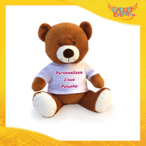 Peluche Orso Personalizzato con testi foto e immagini morbido pupazzo pupazzetto Idea Regalo Originale Gadget Eventi