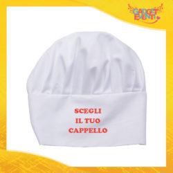 Scegli il tuo Cappello da Cuoco Idea Regalo per la Casa e la Ristorazione Cappellino Chef Gadget Eventi