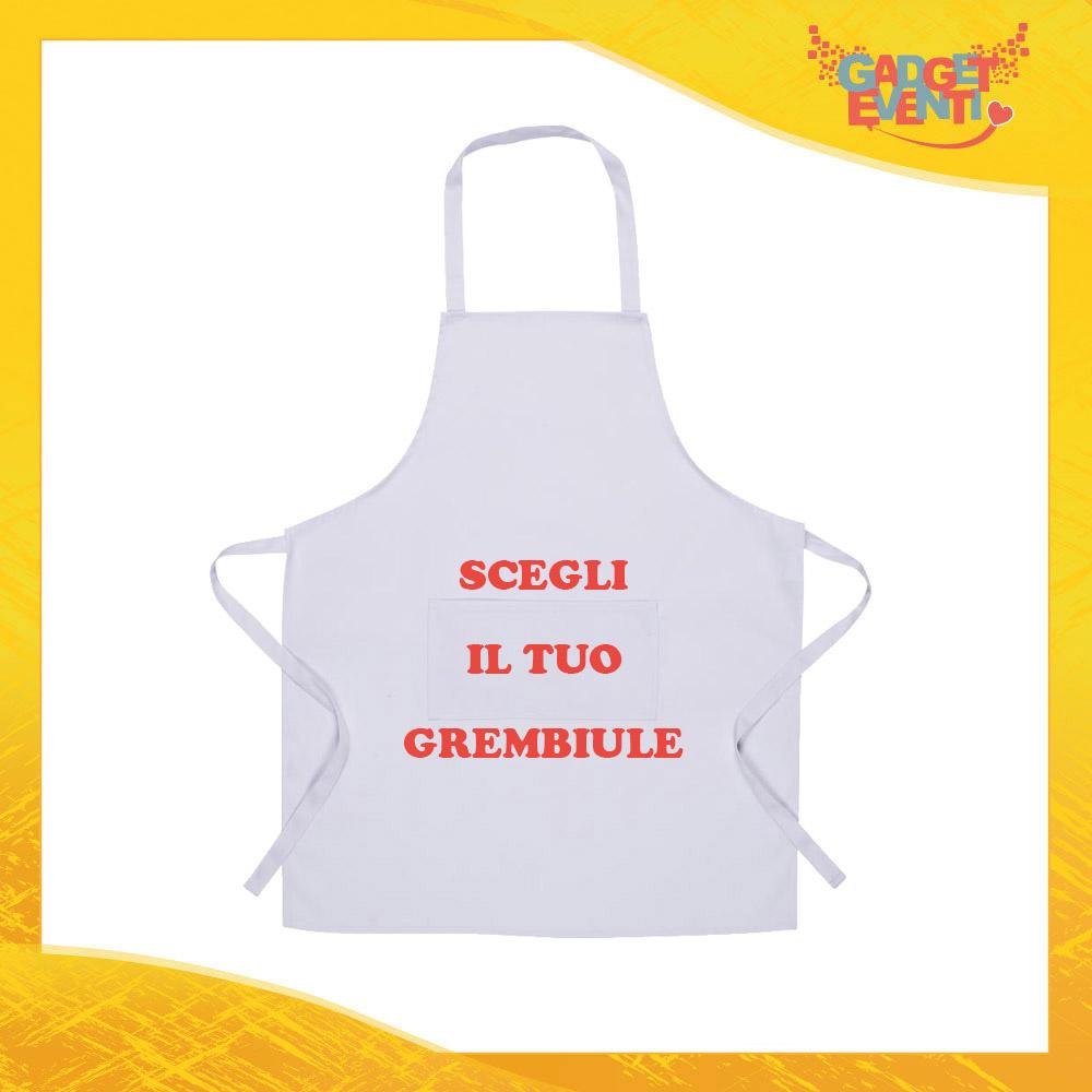 Grembiule cucina