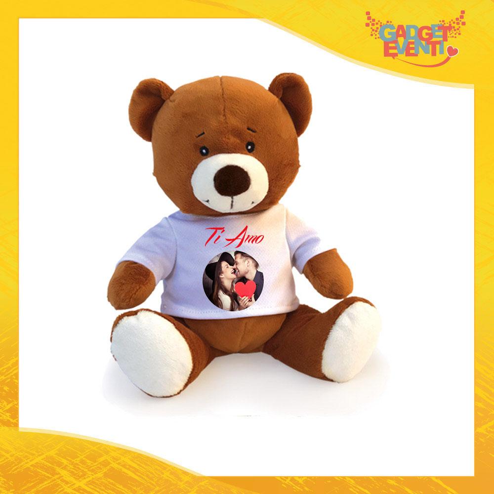 Esempio di Peluche Love Personalizzato per San Valentino Idea regalo per Coppie di Innamorati Gadget Eventi
