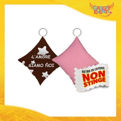 """Mini Cuscino di San Valentino Personalizzato Retro Rosa """"L'Amore Siamo Noi Stelle"""" Mini Federa dell'amore Idea Regalo per Innamorati Gadget Eventi"""