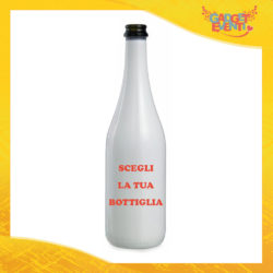 Scegli la tua Bottiglia da Vino Personalizzata Idea Regalo Gadget Eventi