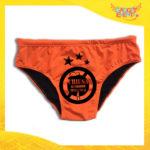 """Costume da Uomo Arancione Fluo """"Chiusa la Stagione della Caccia"""" Slip Maschile Articolo Estivo per il Mare Idea Regalo per Addii al Celibato Gadget Eventi"""