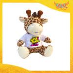 """Peluche Love Pupazzi a forma di Giraffa """"Super Donna con Nome"""" Pupazzetti di San Valentino Idea Regalo per Innamorati Gadget Eventi"""
