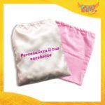 Sacco Bimba Personalizzabile con Foto Testi e Immagini Gadget Eventi