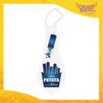 """Maxi Cravatta Personalizzata """"Ultima Patata Con Nome"""" Cravattone Per Addio al Celibato Idea Regalo Gadget Eventi"""