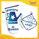 """Guanto + Presina da Forno """"Sono Io la Star"""" Anti Scottatura Idea Regalo per Cuochi per la Casa e la Ristorazione festa dei Nonni Gadget Eventi"""
