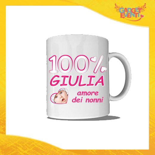 """Tazza """"Amore dei Nonni"""" Colazione Breakfast Mug Idea Regalo Festa dei Nonni Gadget Eventi"""