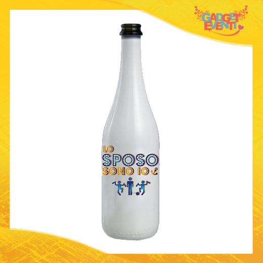 """Bottiglia da Vino Personalizzata """"Lo Sposo Sono Io"""" Idea Regalo Addio al Celibato Gadget Eventi"""