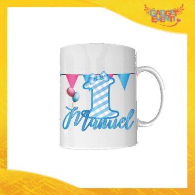 """Tazza Bimbo Personalizzata """"Quadri Nome e Numero"""" Mug per Compleanni Regalo Tazze Originali per Feste di Compleanno Gadget Eventi"""