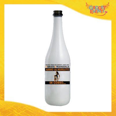 """Bottiglia da Vino Personalizzata """"Serata Tranquilla"""" Idea Regalo Addio al Nubilato Gadget Eventi"""