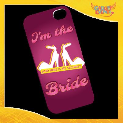 """Cover Smartphone Cellulare Tablet """"Bride Security"""" Addio al Nubilato Gadget Eventi"""