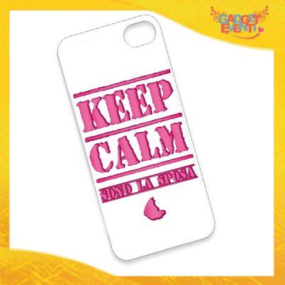 """Cover Smartphone Cellulare Tablet """"Keep Calm Sposa"""" Addio al Nubilato Gadget Eventi"""