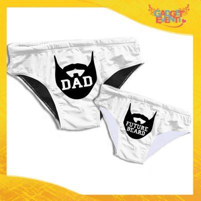 Coppia Costume slip mare Padre e Figlio DAD FUTURE BEARD