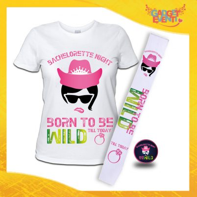 kit party addio al Nubilato BORN TO BE WILD BIANCO