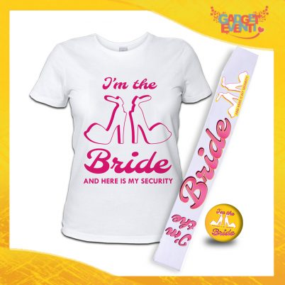 kit party addio al Nubilato I'M THE BRIDE BIANCO
