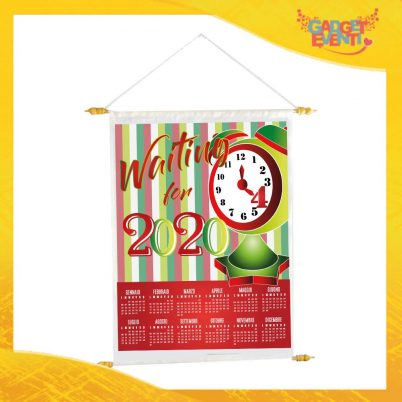 CALENDARIO Waiting for xmas rosso