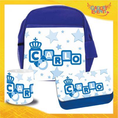 Kit Scuola bimbo personalizzato con nome Dadini