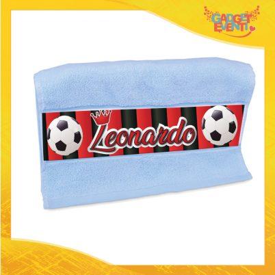 Asciugamano bimbo personalizzato con nome Rossonero