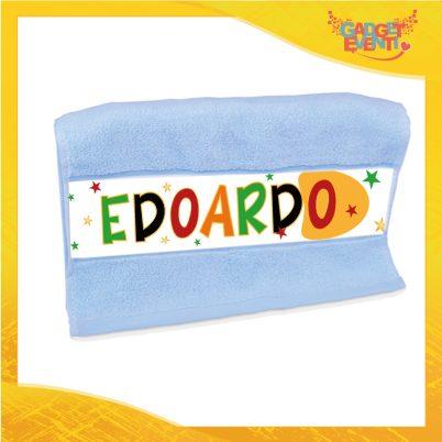 Asciugamano bimbo personalizzato con nome Cartoon