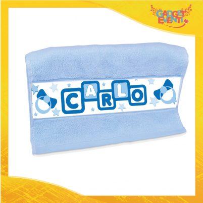 Asciugamano bimbo personalizzato con nome Dadini