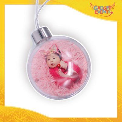 pallina natalizia trasparente palla