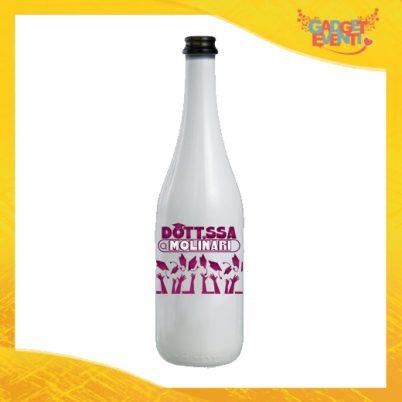 Bottiglia Laurea Dottoressa Cognome