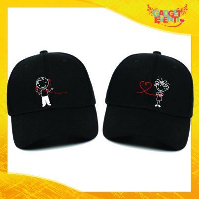 Cappellini Neri coppia Comunicazione a distanza