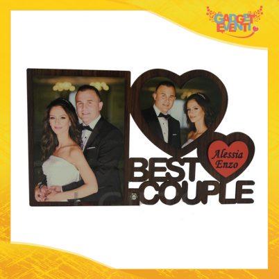 Cornice Best Couple Personalizzabile con foto e testo