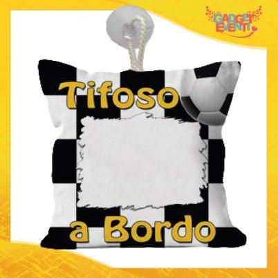 Mini Cuscino Tifoso Bianconero