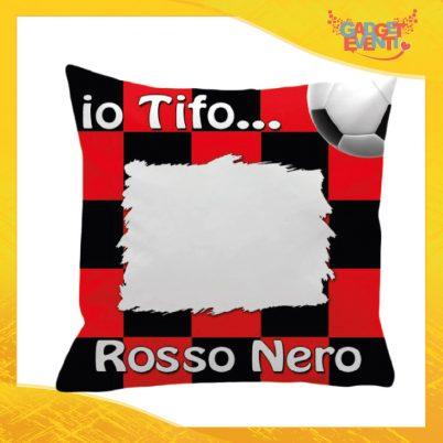 Cuscino Tifoso Personalizzabile Rossonero