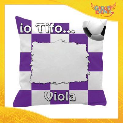 Cuscino Personalizzato Tifoso Viola