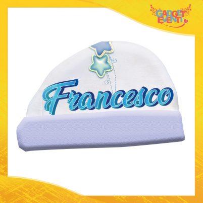 cappellino bimbo personalizzato con nome stelline