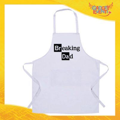 Grembiule bianco da cucina Breaking Dad