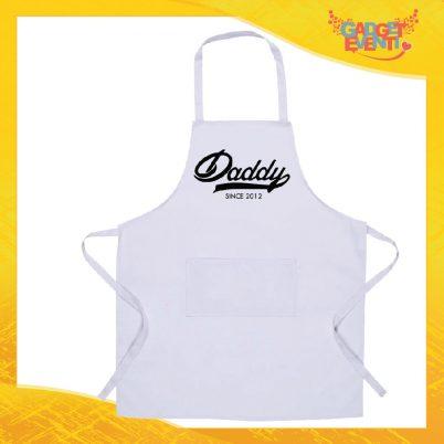 Grembiule da cucina bianco Daddy Since