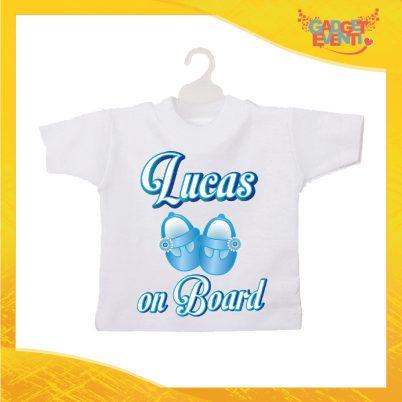 Mini t-shirt bimbo scarpette