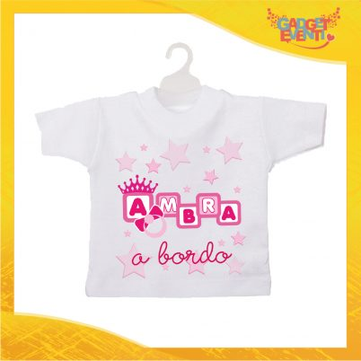 Mini tshirt bimba personalizzata dadini