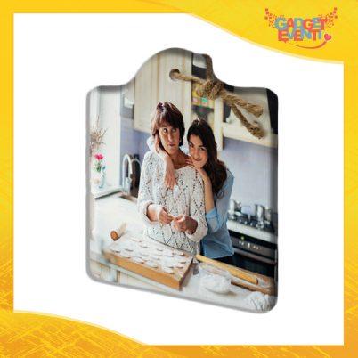 Tagliere quadrato in ceramica Personalizzato con Testo e Foto idea regalo