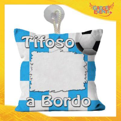 Mini cuscino tifoso biancoazzurro