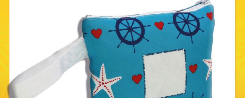Pochette borsella mare personalizzabile