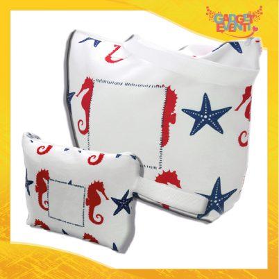 kit borsa e borselllo mare personalizzabile