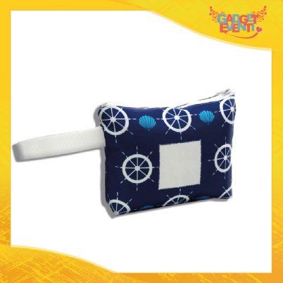 Pochette borsello mare personalizzabile con foto e nome timone