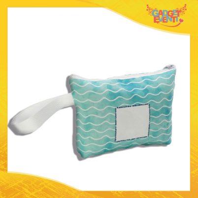 pochette borsello personalizzabile con foto e nome onde marine