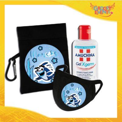 kit igienizzante bimbo personalizzabile con nome squaletti