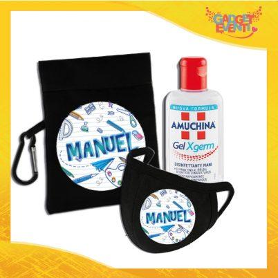 kit igienizzante bimbo personalizzato con nome back to school